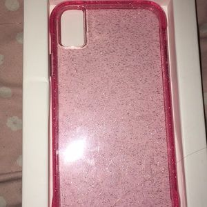 iPhone XR Glitter Case 10 Foot Drop Protection 💗